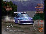 Gran Turismo 2 PlayStation Gran Turismo 2. It's not just for pavement anymore. Taking a modified car out for a rally race.