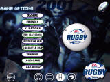 Rugby Windows Main menu