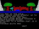 Wizards Spell ZX Spectrum The location to the east