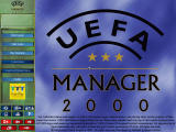 UEFA Manager 2000 Windows Main menu
