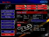 Johnny Herbert's Grand Prix Championship 1998 Windows Main Menu