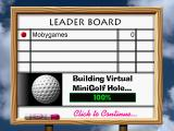 3-D Ultra Minigolf Windows Leader board to keep score in multiplayer games