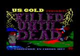 Killed Until Dead Amstrad CPC Loading screen
