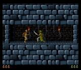 Prince of Persia SNES A guard is about to shish kabob me