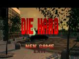 Die Hard Trilogy PlayStation DH1 - Title