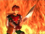 Shining Force III SEGA Saturn The hero of the game stands ready (Intro)
