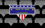 American Gladiators Amiga Select game mode
