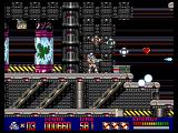 Mega Turrican Amiga Collect some power-ups