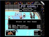 NHL '94 Genesis Scoring in the right time