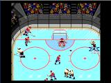 NHL '94 Genesis Preparing a one-timer