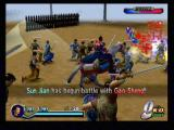 Dynasty Warriors 2 PlayStation 2 Must I do everything? While you'll have to concern yourself with the welfare of your men, it's not because they'll be of tremendous help in battle. Sometimes they'll stand around chatting with the enemy if you're not near.