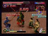 Dynasty Warriors 2 PlayStation 2 Power up mugging. Enemy heroes are the most difficult opponents you'll come across, as they will heal themselves between attacks. Its worth it, however, as they have items that will permanently boost your stats.
