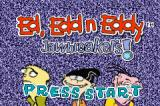 Ed, Edd n Eddy: Jawbreakers! Game Boy Advance Title screen.