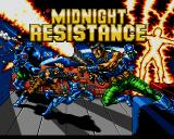 Midnight Resistance Amiga Title screen