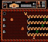 Bible Buffet NES An action scene in Potato Land