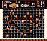 Bible Buffet NES An action scene in Pizza Land