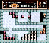 Bible Buffet NES An action scene in Freezer Land
