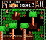 Bible Buffet NES An action scene in Fruit Land