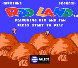 Rodland NES Title screen