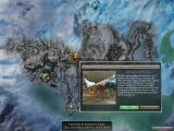 Guild Wars Windows A zoomed section of the world map, including the location description of one of the many missions. I'm currently at the green marker.