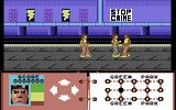 Subway Vigilante Commodore 64 Fighting the bad guys
