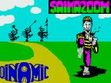 Saimazoom ZX Spectrum Title screen (Spanish version)