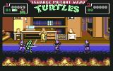 Teenage Mutant Ninja Turtles Commodore 64 Found April! Now, let's get rid of these guys! (European version)