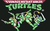 Teenage Mutant Ninja Turtles Commodore 64 Title screen (U. S. version)