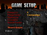 BattleTanx Nintendo 64 Main menu