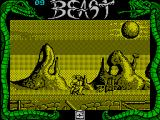 Shadow of the Beast ZX Spectrum Fighting an enemy