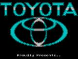 Toyota Celica GT Rally ZX Spectrum Toyota proudly presents...