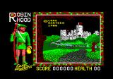 Super Robin Hood Amstrad CPC Title screen