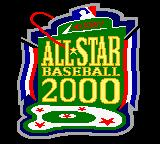All-Star Baseball 2000 Game Boy Color Title screen.