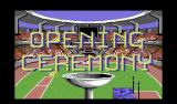Summer Challenge Commodore 64 Opening ceremony opening