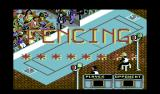 Summer Challenge Commodore 64 Fencing ready