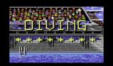 Summer Challenge Commodore 64 Diving