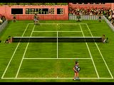 Pete Sampras Tennis 96 Genesis Serving in grass