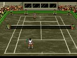 Pete Sampras Tennis 96 Genesis In challenge mode it's also possible to play in reverse view