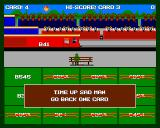 Sensible Train-Spotting Amiga Time up & going back one card