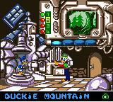 Disney's Donald Duck: Goin' Quackers Game Boy Color Starting another level as Gyro sends you off to another location