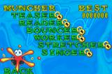 Hot Potato! Game Boy Advance Mission Game Menu