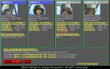 Gunship 2000 Amiga Promote and award your squad pilots after a mission