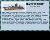 Sid Meier's Civilization Amiga Information on the battleship