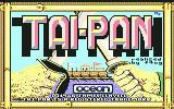 Tai-Pan Commodore 64 Title screen
