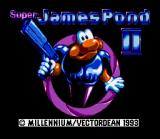 James Pond 2: Codename: RoboCod SNES Title screen (Japanese version)