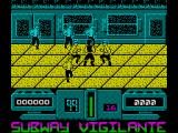Subway Vigilante ZX Spectrum This could get tough