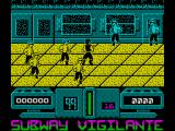 Subway Vigilante ZX Spectrum Game start