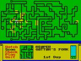 Dark Sceptre ZX Spectrum Keep an eye on the overall map