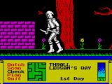 Dark Sceptre ZX Spectrum Everything looks nice in the garden