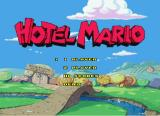 Hotel Mario CD-i Main menu